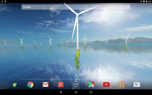 风力发电机动态桌面:Coastal截图3