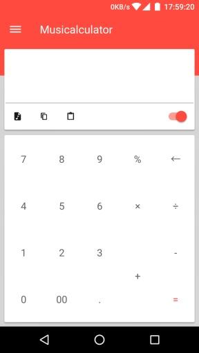 音乐计算器:Musicalculator