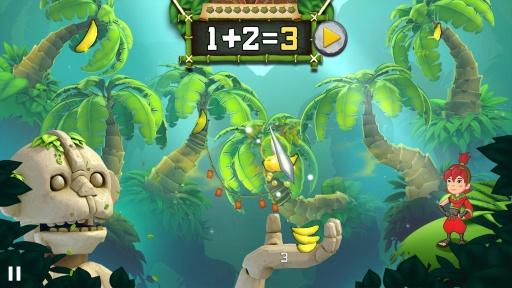 水果忍者学堂:算数大师 Fruit Ninja:截图1