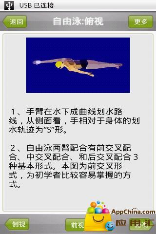 游泳动画教程截图1