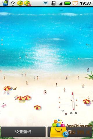海滩时光壁纸