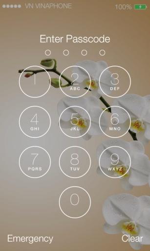 Lock Screen IOS 9 - Phone7截图0