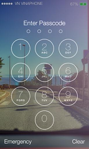 Lock Screen IOS 9 - Phone7截图3