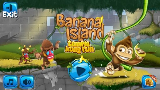 香蕉岛:猴庙逃亡