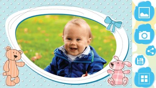 宝宝 相框 照片编辑器 专业版-宝贝 像框 照片编辑截图1