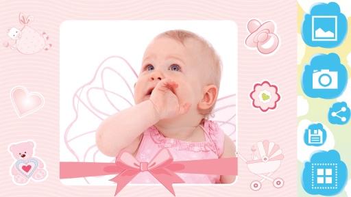 宝宝 相框 照片编辑器 专业版-宝贝 像框 照片编辑截图3