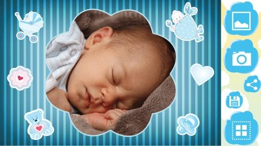 宝宝 相框 照片编辑器 专业版-宝贝 像框 照片编辑截图5