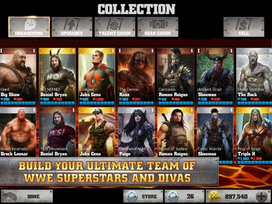WWE不朽战神 无限金币版截图3