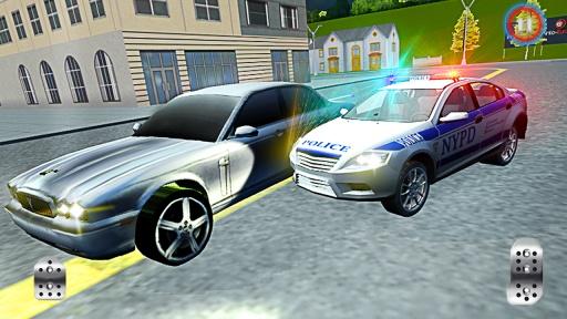911警察驾驶的汽车追逐3D截图3
