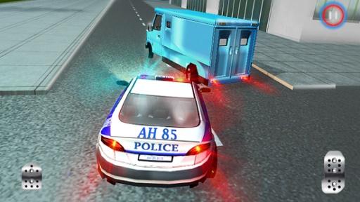 911警察驾驶的汽车追逐3D截图4