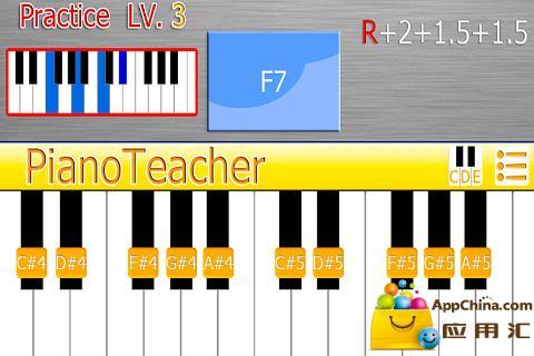 PianoTeacher Free|玩音樂App免費|玩APPs