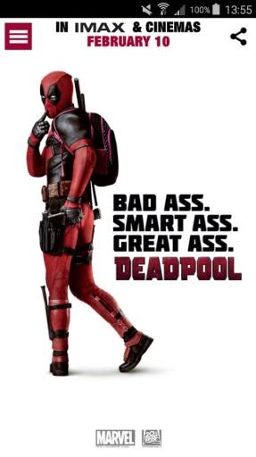死侍电影伴侣应用:Deadpool