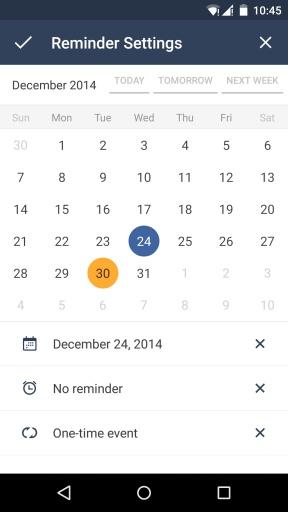 GTasks日程管理截图3