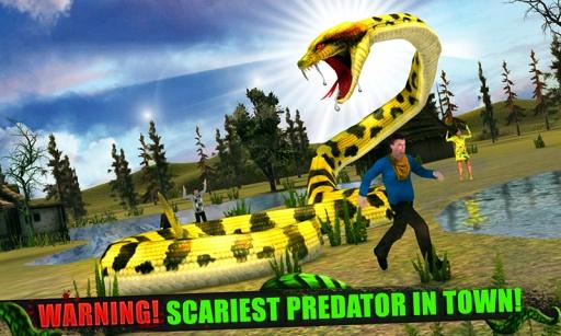 愤怒的蟒蛇3D