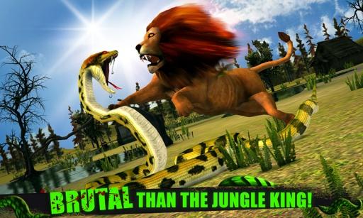 愤怒的蟒蛇3D截图3