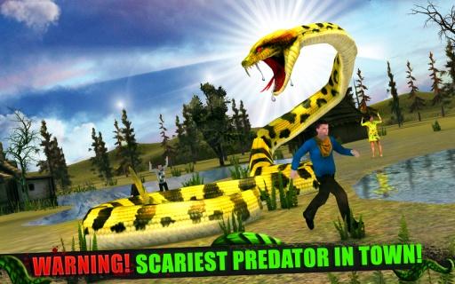 愤怒的蟒蛇3D截图4
