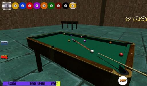 3D免费台球斯诺克池截图1