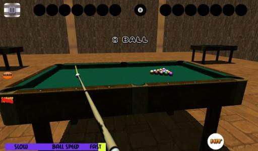 3D免费台球斯诺克池截图2