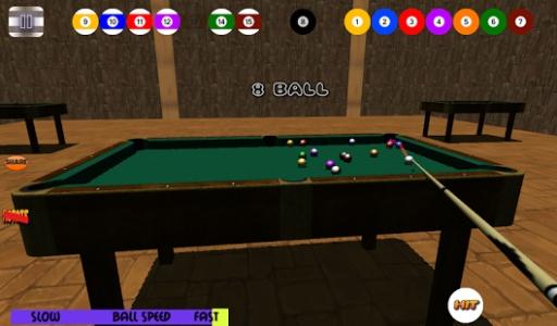 3D免费台球斯诺克池截图3