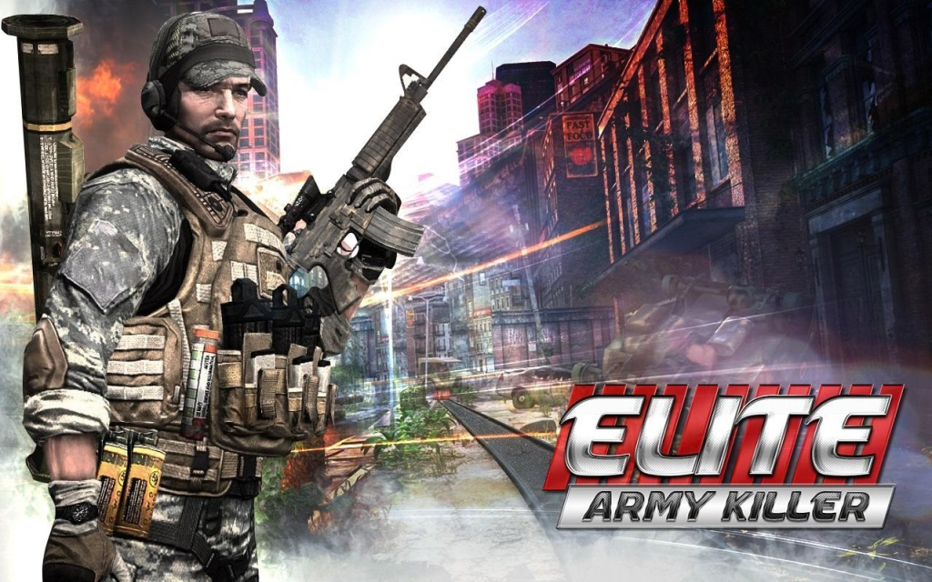 精锐军队杀手:ELITE截图1