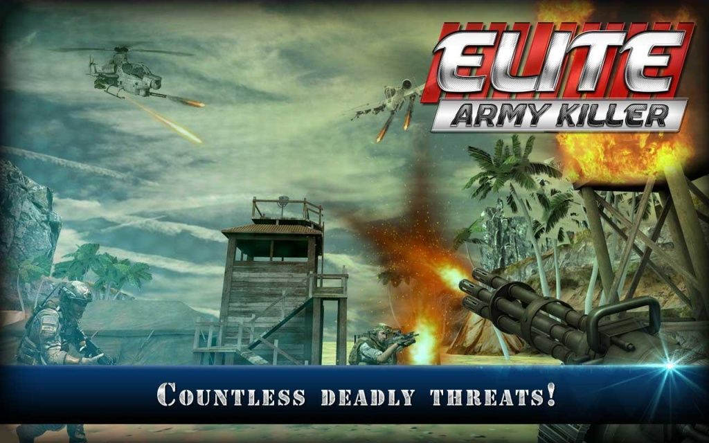 精锐军队杀手:ELITE截图2