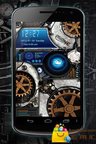 GO锁屏机械核心截图2