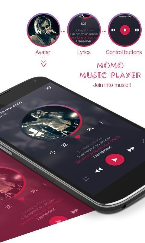 momo音乐播放器:Momo截图1