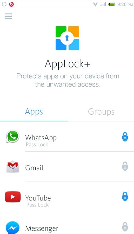 应用锁AppLock+截图0