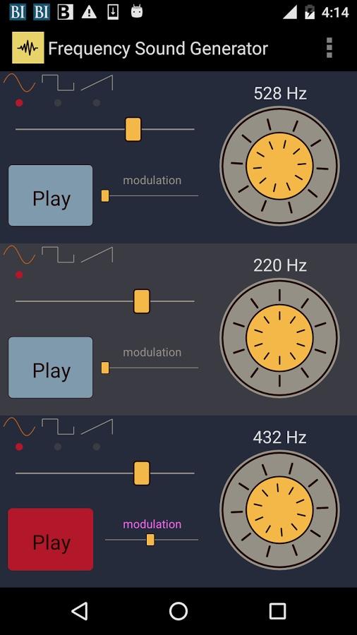 频率的声音发生器截图0