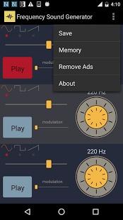 频率的声音发生器截图1