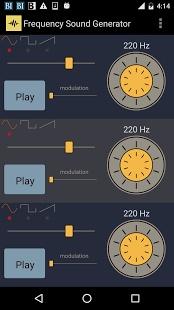 频率的声音发生器截图3