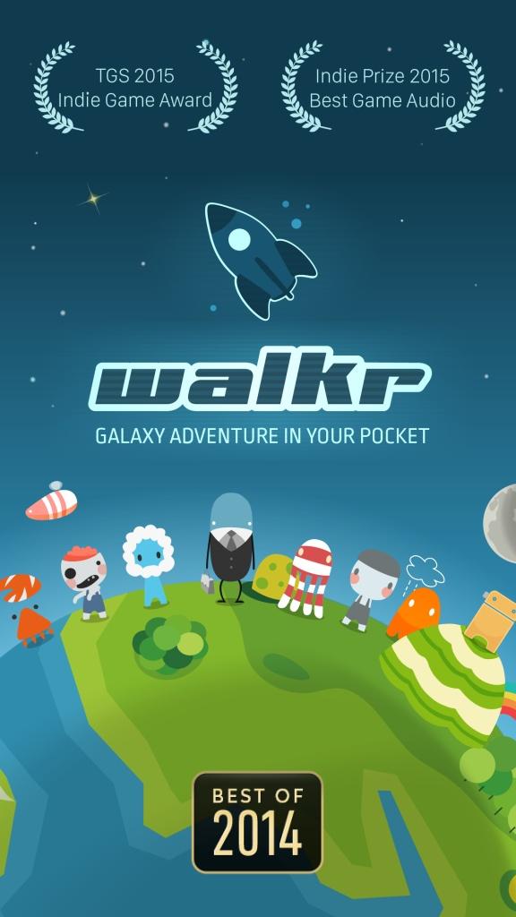 口袋里的银河冒险Walkr