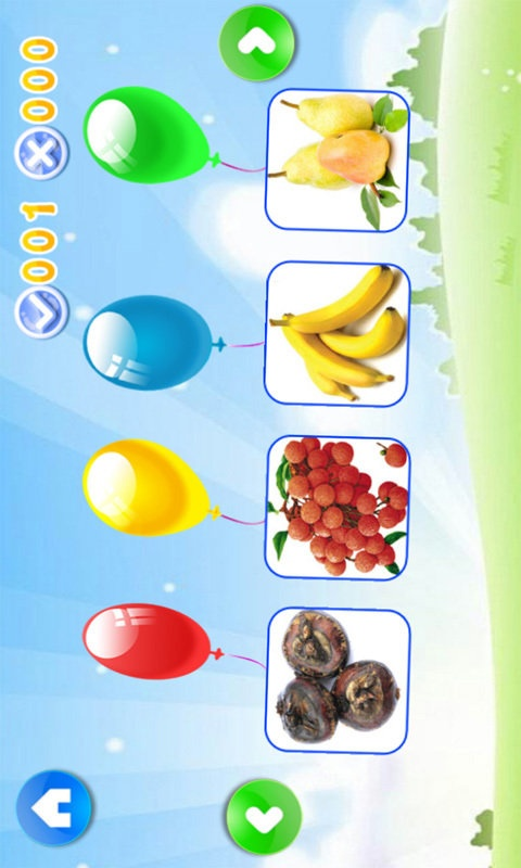 宝宝水果游戏截图2