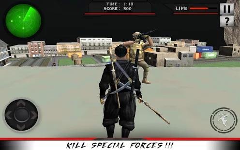 城市忍者刺客战士3D截图2