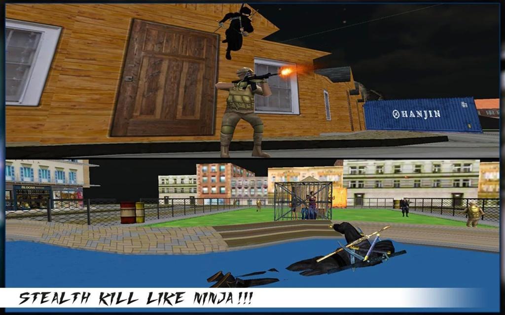 城市忍者刺客战士3D截图5