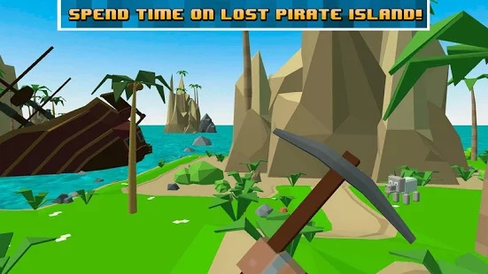 Pirate Craft Island Survival截图0