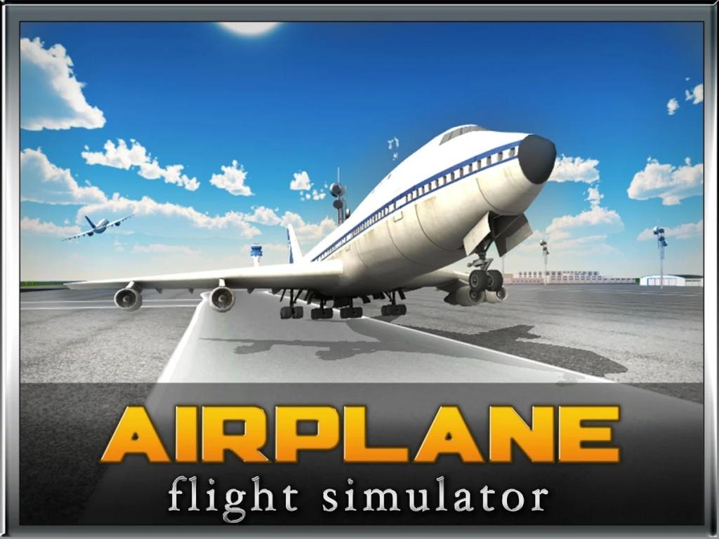 飞机飞行模拟器的3D截图2