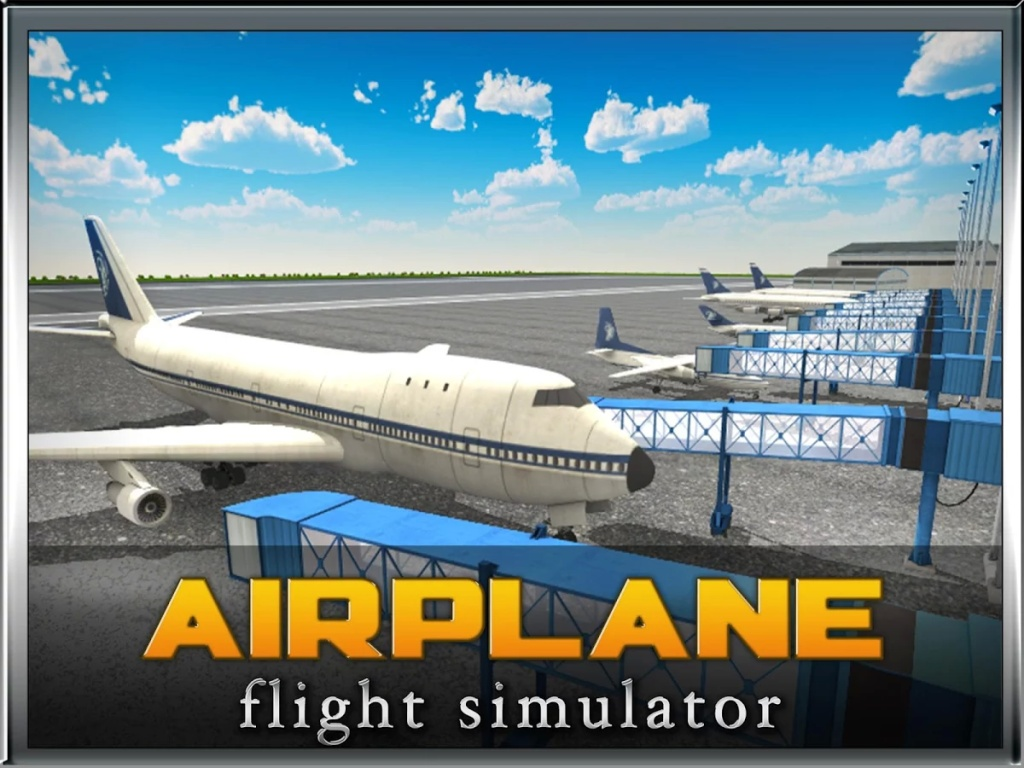 飞机飞行模拟器的3D截图4