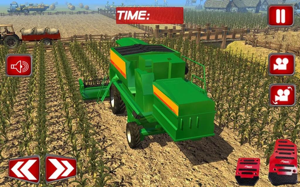 真正的农民拖拉机SIM 2016年