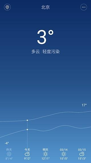 MIUI7天气