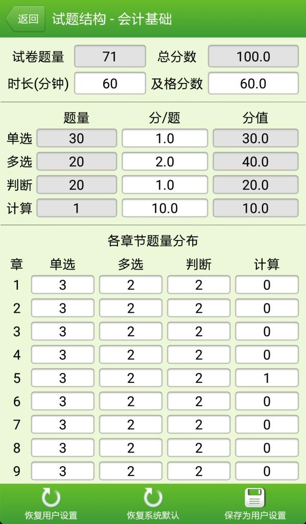 会计从业资格考试截图3