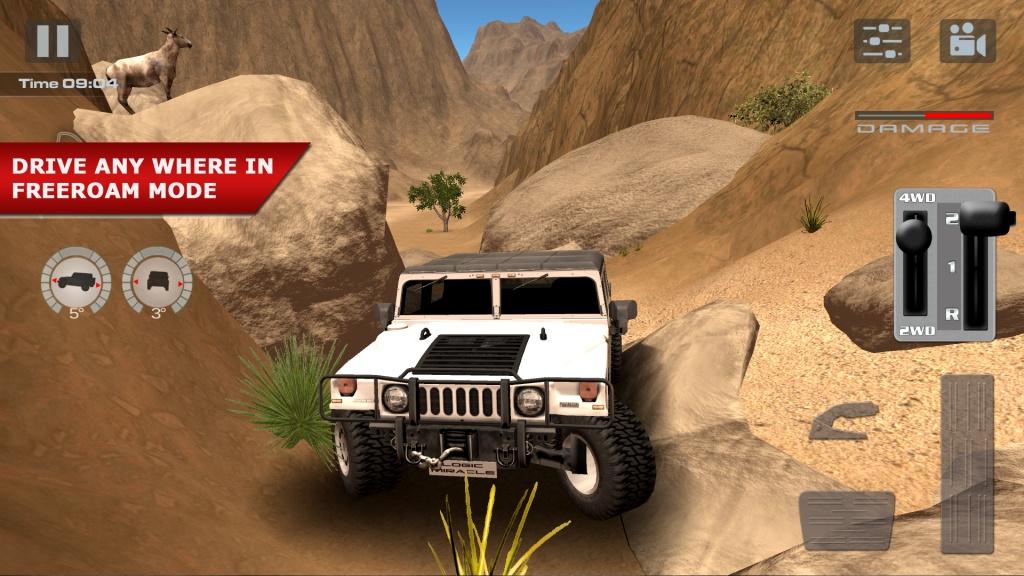 越野驾驶:沙漠截图0