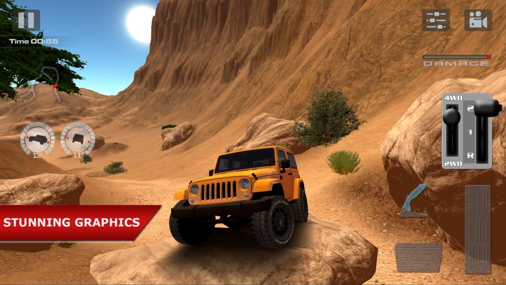 越野驾驶:沙漠截图1