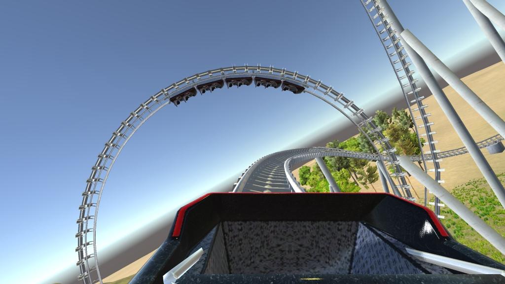 3D过山车 VR版截图1