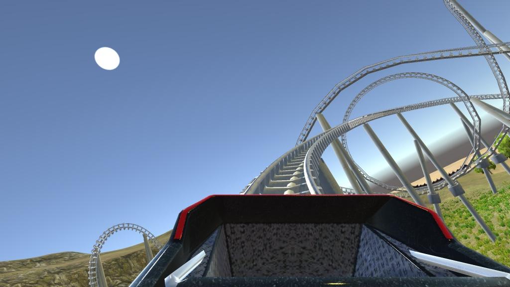 3D过山车 VR版截图2