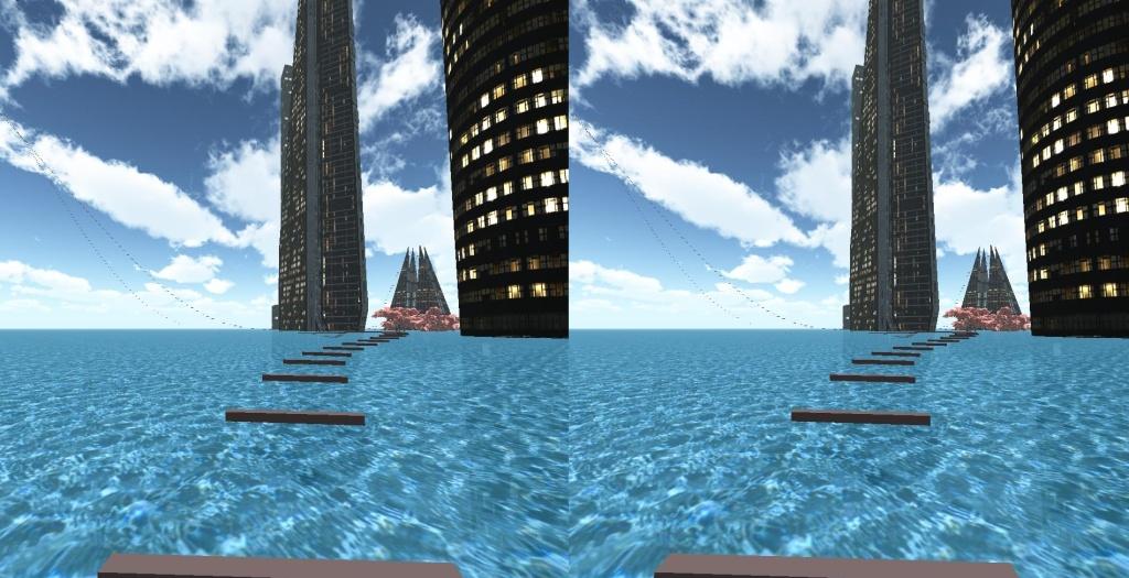 行走海上城市VR