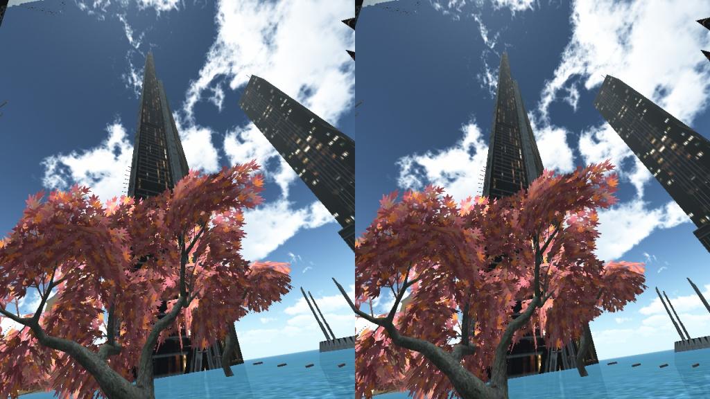 行走海上城市VR截图4