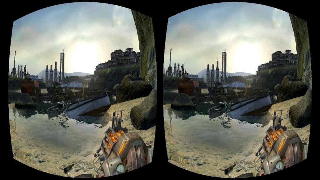 虚拟现实游戏