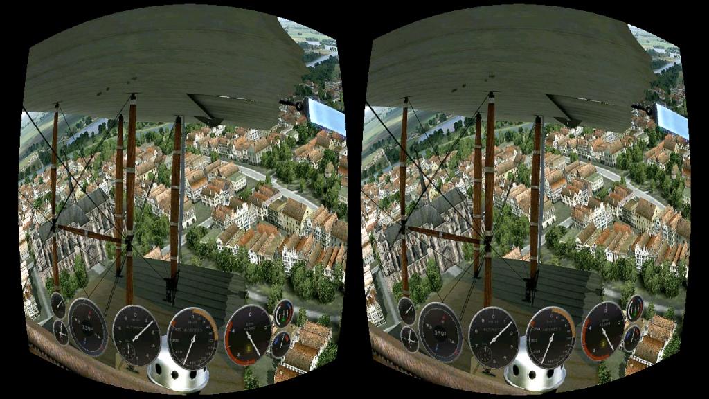 虚拟现实游戏截图1