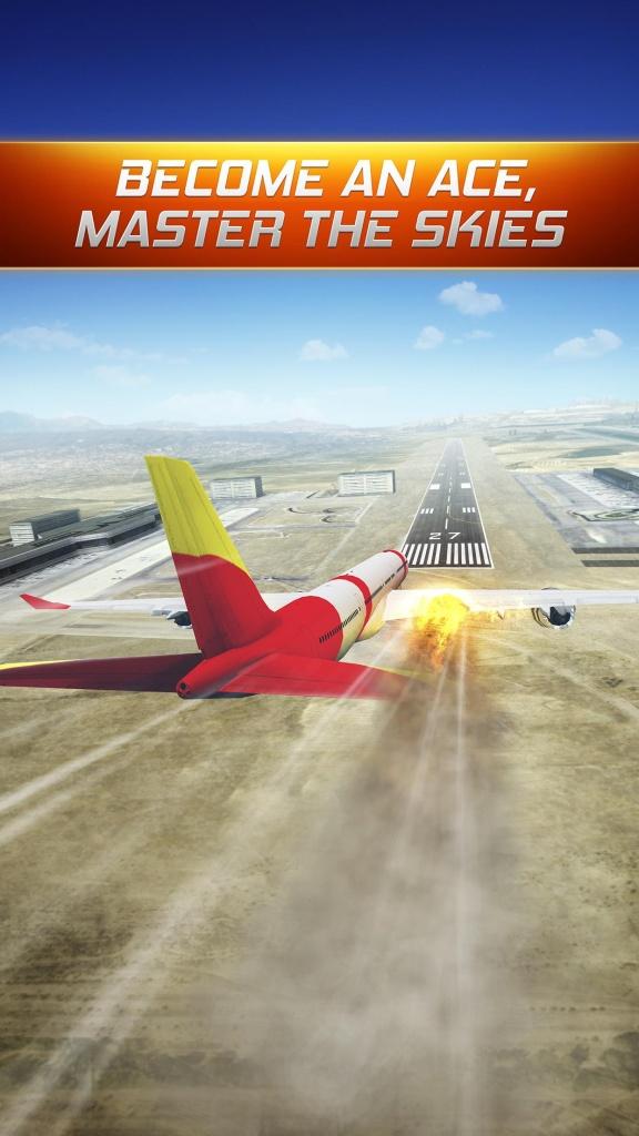 飞行报警模拟器3D截图1